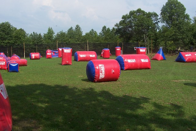 Types of paintball field