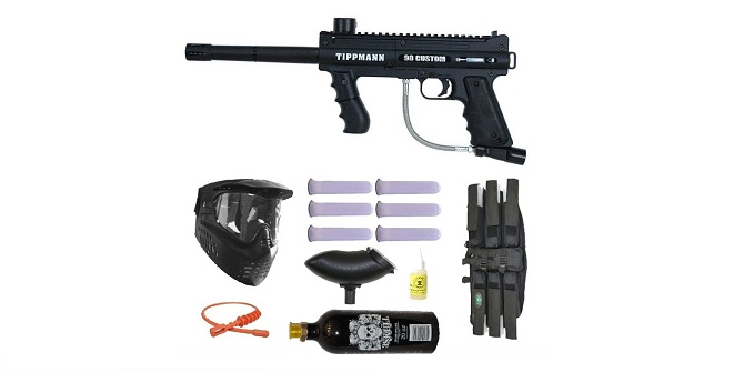 An Informative Review of the US Army Alpha Black Tactical Paintball Marker Gun Sniper Set – Black