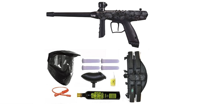 US Army Alpha Black Elite:The Paintball Marker That Combines Real With Fun