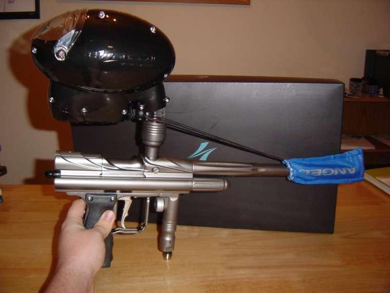 paintball gun compressed air