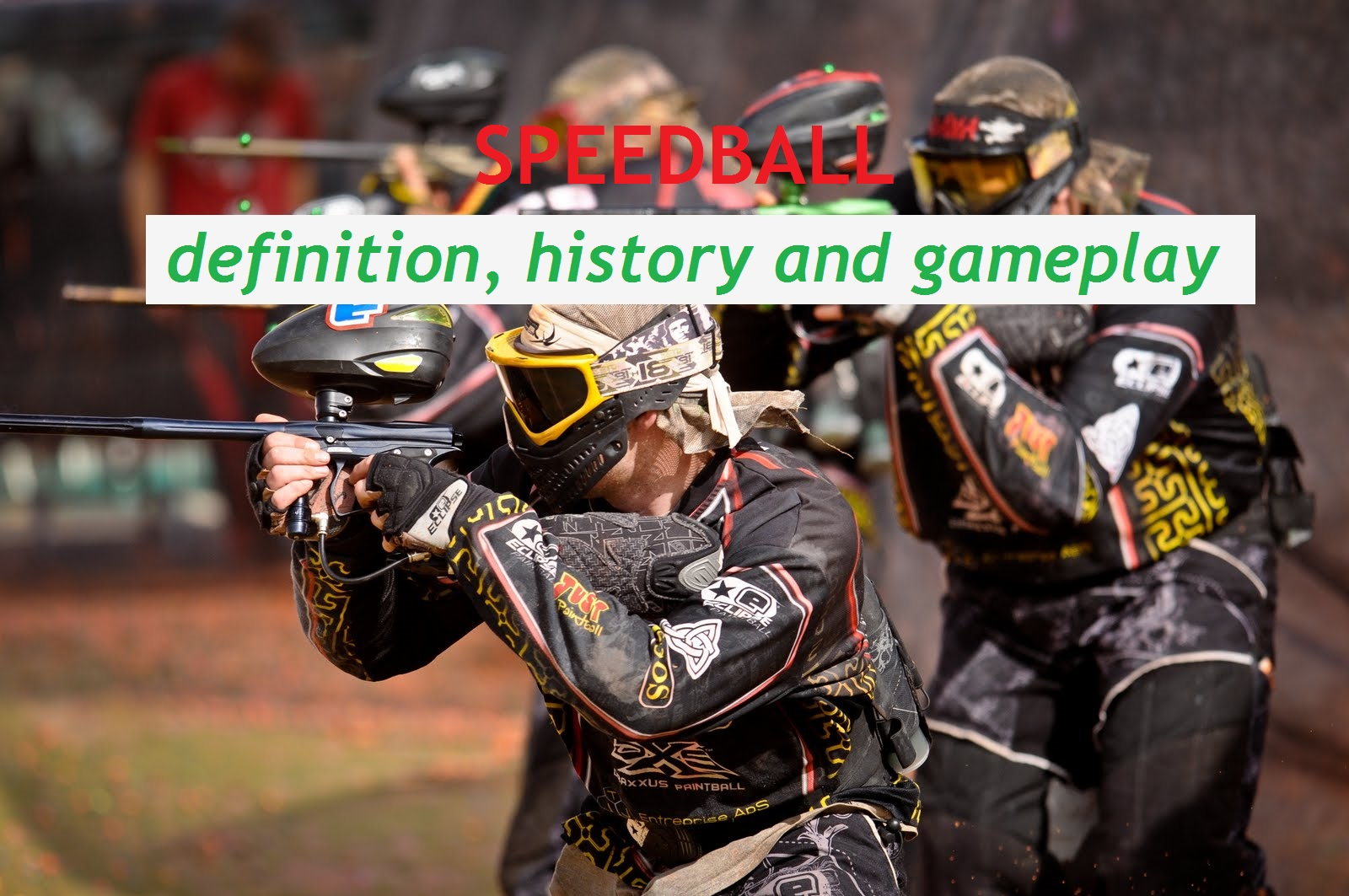 speedball definition history and gameplay