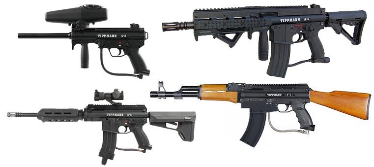 tippmann a5 packages paintball gun