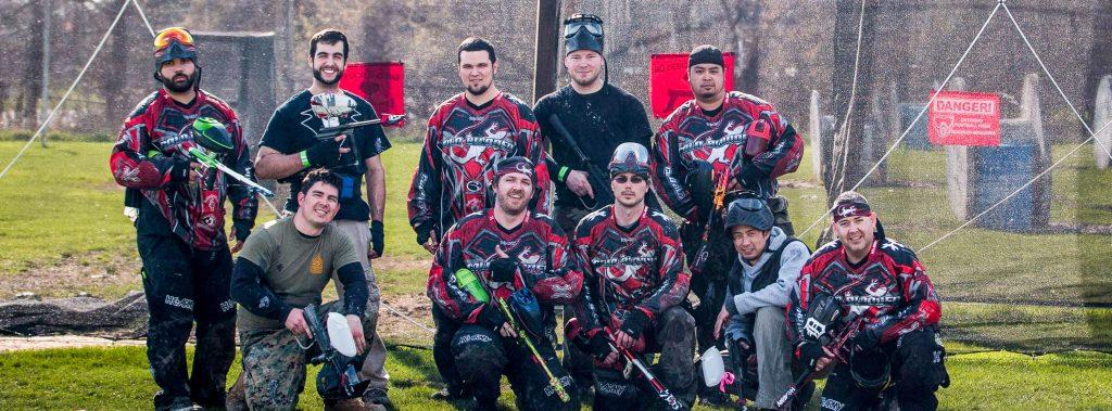 paintball sport team