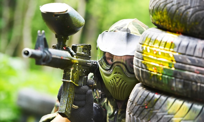 play paintball alone